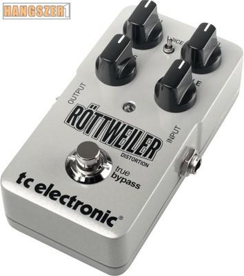 TC Electronic Röttweiler Distortion effekt pedál