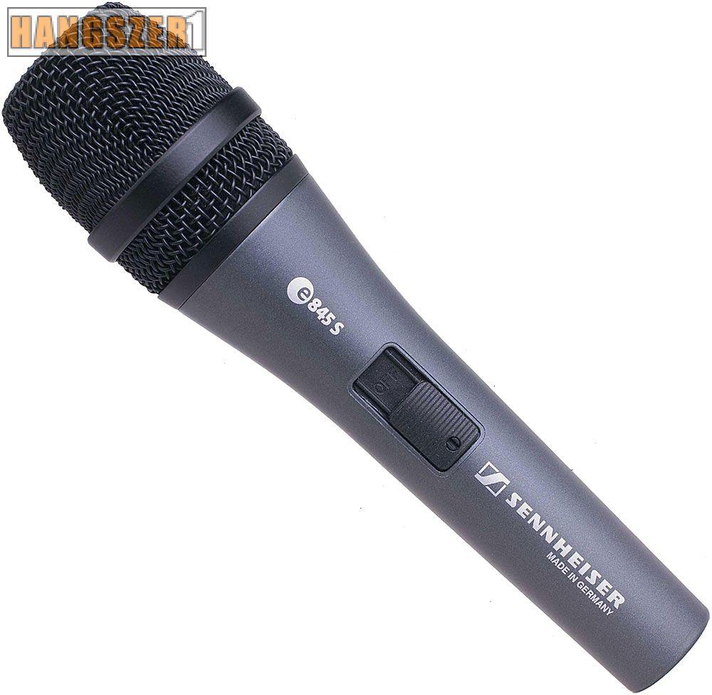 Sennheiser E 835 S dinamikus énekmikrofon