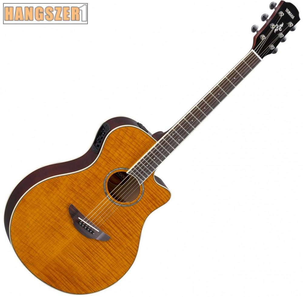 YAMAHA APX 600 FM amber elektroakusztikus gitár