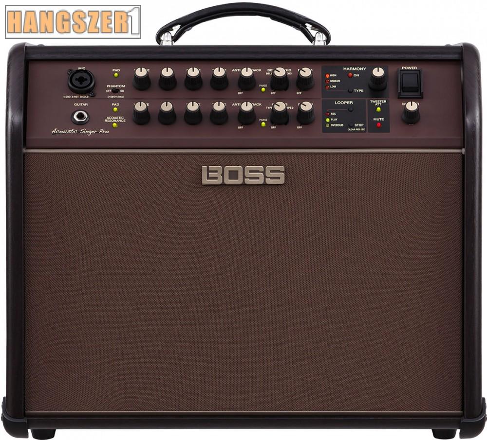 Boss Acoustic Singer Pro akusztikus gitár kombó